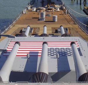 PSX ONE on the USS Iowa