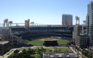 Petco Park San Diego, coated with Amercoat 68HS and Amershield in 2003