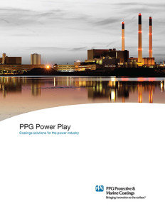 PPG Protective and Marine Coatings recommendations for Power Generation and Transmission Infra-Structure